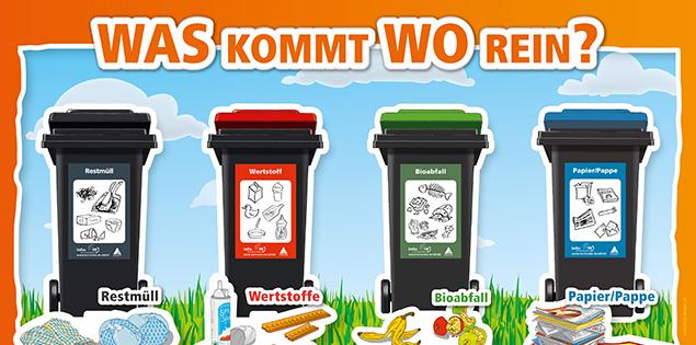 Karlsruhe Mülltrennung