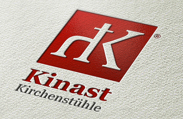 Corporate Design für Kinast Kirchenstühle