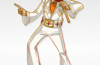 Elvis-Illustration
